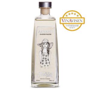 FALSTER Akvavit Klassisk – Årgang 2020 – 5 stjerne Vinavisen – FALSTER Destilleri
