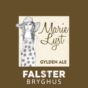 Marie Lyst - Gylden Ale - FALSTER Bryghus